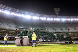 Placing the pitch at the MCG